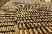 On-site Brick Factory — Stock Photo