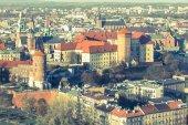 Wawel Royal Castle in Krakow — Stock Photo
