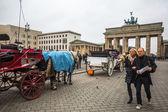 View of the Brandenburg Gate — Stock Photo