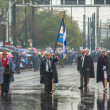 Military parade for the Greece Independence Day — Stock Photo #70838717