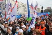 Russia May Day — Stock Photo