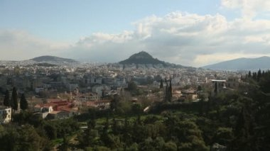 Lycabettus Hill in Athens — Stock Video