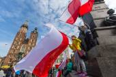 National Flag Day of the Republic of Poland — Stock fotografie