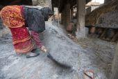 尼泊尔女被访者 — 图库照片