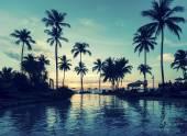 熱帯海洋のビーチ. — ストック写真