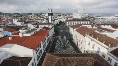 Marina van Ponta Delgada, Portugal — Stockvideo
