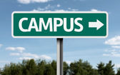 Campus creative sign — Stock Photo