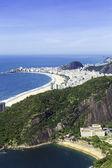 Luchtfoto van rio de janeiro, Brazilië — Stockfoto