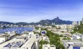 Luftbild von Rio De Janeiro, Brasilien — Stockfoto