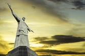 Christ the Redeemer statue in Rio de Janeiro, Brazil — Stock Photo
