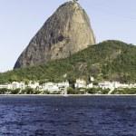 Brazil, Rio de Janeiro, Sugar Loaf Mountain - Pao de Acucar with the bay and Atlantic Ocean — Stock Photo #54706465