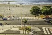 Copacabanaplajı rio de janeiro, brezilya — Stok fotoğraf