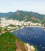Aerial view of Rio de Janeiro, Brazil — Stock Photo