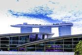 The Marina Bay Sands Resort in Singapore — Stock Photo