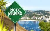 Rio de Janeiro sign, Brazil — Stock Photo