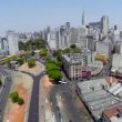 Aerial view of Sao Paulo city in a beautiful day — Stock Video #55988229