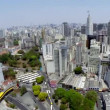Aerial view of Sao Paulo city in a beautiful day — Stock Video #55988609