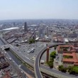 Aerial view of Sao Paulo city in a beautiful day — Stock Video #55988833
