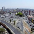 Aerial view of Sao Paulo city in a beautiful day — Stock Video #55989185