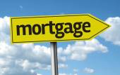 Mortgage creative sign — Foto de Stock