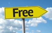 Free creative sign — Stock Photo