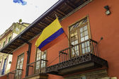 Colonial house in Candelaria, Bogota, Colombia. — Stock Photo
