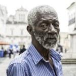 BAHIA, BRAZIL - CIRCA NOV 2014: Brazilian man at Pelourinho in Salvador, Bahia. — Stock Photo #58454613
