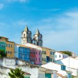 The historic centre of Salvador, Brazil — Stock Photo #58504043