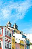 The historic centre of Salvador, Brazil — Fotografia Stock