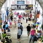 BAHIA, BRAZIL - CIRCA FEB 2014: The famous Mercado Modelo in Salvador, Bahia, Brazil. — Stock Photo #58821349