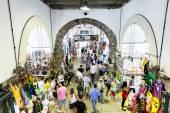 BAHIA, BRAZIL - CIRCA FEB 2014: The famous Mercado Modelo in Salvador, Bahia, Brazil. — Stock Photo