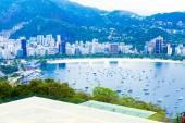 Rio de janeiro, brezilya havadan görünümü. — Stok fotoğraf