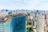 The Sao Paulo city in South America, Brazil — Stock Photo