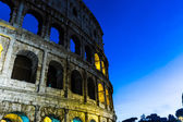 The Colosseum at evening in Rome, Italy. — Fotografia Stock