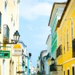 BAHIA, BRAZIL - CIRCA NOV 2014: Pelourinho, the famous Historic Centre of Salvador, Bahia in Brazil. — Stock Photo #62545495