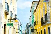 BAHIA, BRAZIL - CIRCA NOV 2014: Pelourinho, the famous Historic Centre of Salvador, Bahia in Brazil. — Stock Photo