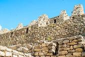 Intricately crafted stonework at Machu Picchu, Peru — Stock Photo