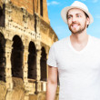 Tourist in Rome, Italy — Stock Photo #62739241