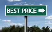 Best Price creative sign — Stock Photo