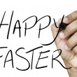 Happy Easter hand writing — Stock Photo #62885257