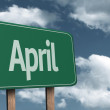 April creative Sign — Stock Photo #62880659