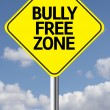 Bully Free Zone Creative sign — Stock Photo #62880919