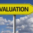 Valuation creative sign — Stock Photo #62880947