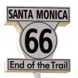 Santa Monica Sign — Stock Photo #62881601