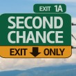 Creative Second Chance Exit Only — Stok fotoğraf #62884009