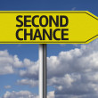 Second Chance creative sign — 图库照片 #62884105