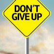 Don't Give Up Creative sign — Stock Photo #62886627
