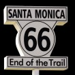 Santa Monica Sign — Stock Photo #62887107