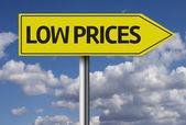 Low Prices creative sign — Stock Photo