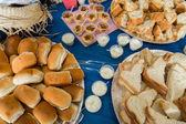 Table of Festa Junina Party — Foto Stock